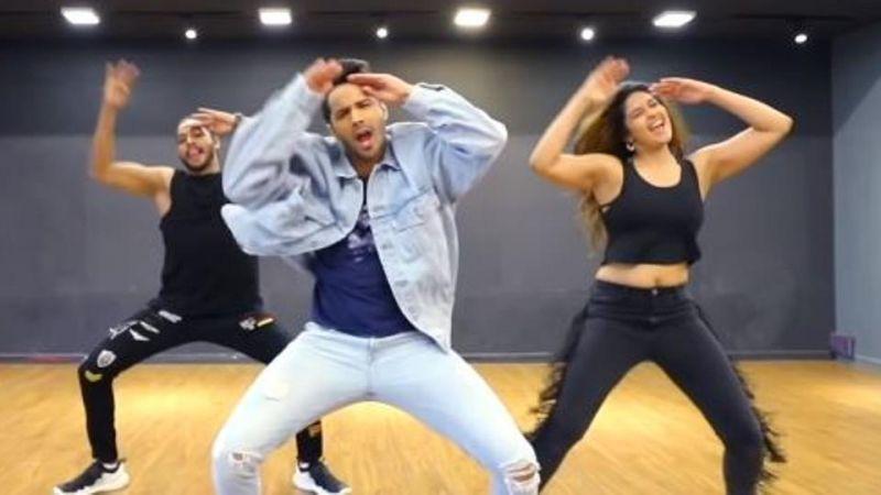 वरुण धवन संग इस गाने पर थिरकीं यह सेक्सी एक्ट्रेस, वीडियो ने इंटरनेट पर लगाई आग