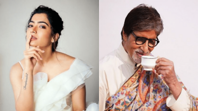 Rashmika Mandanna becomes Amitabh Bachchan's daughter, know how the actress got this fortune