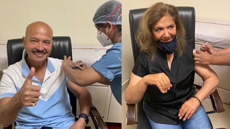 राकेश रोशन और पत्नी पिंकी ने ली कोरोना वैक्सीन की दूसरी डोज