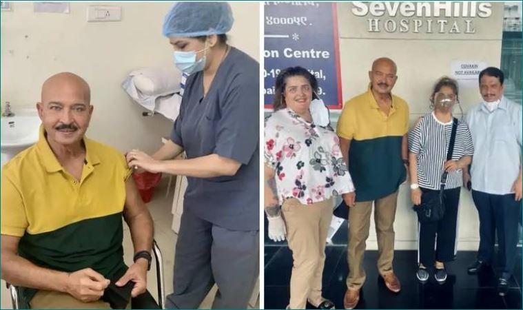 राकेश रोशन ने ली कोरोना वैक्सीन की दूसरी डोज, सोशल मीडिया पर पोस्ट की तस्वीरें