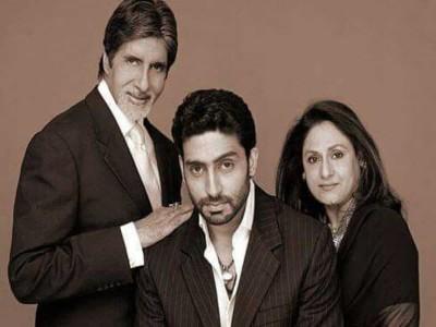Abhishek and granddaughter Navya wishes Jaya Bachchan on his birthday