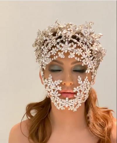 Urvashi Rautela flaunts her luxurious diamond mask fans said