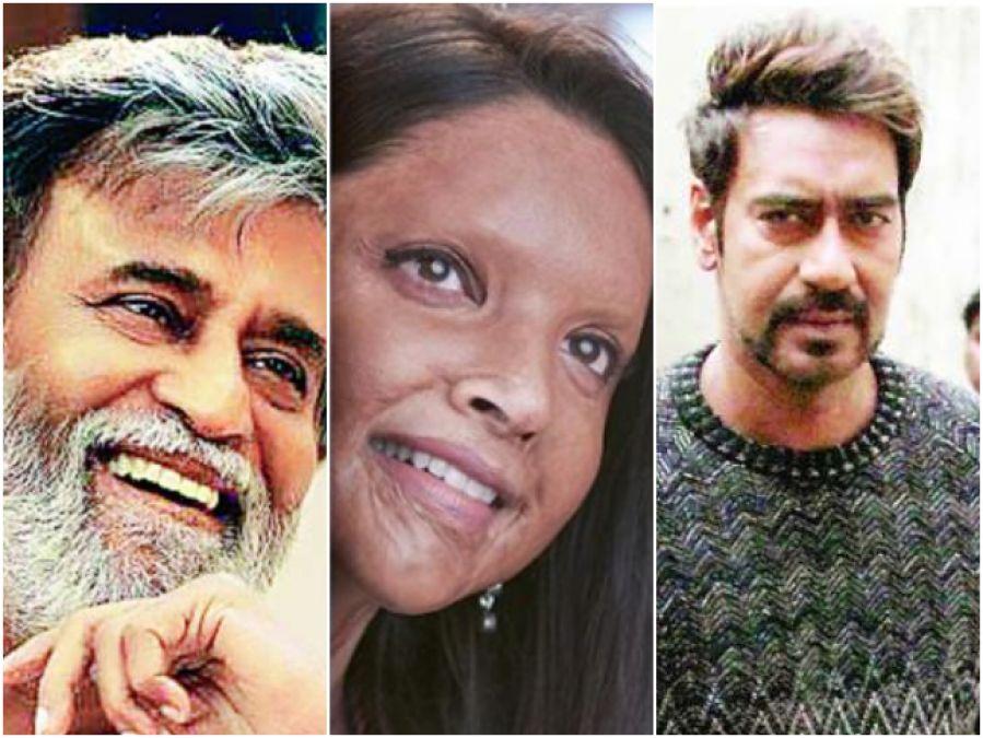 बॉक्स ऑफिस पर टकराएंगे अजय, दीपिका और रजनीकांत, होगा धमाकेदार क्लैश