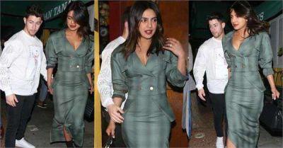 28 हजार रु की ड्रेस पहने नजर आई प्रियंका, पति निक ने ऐसे दिया साथ