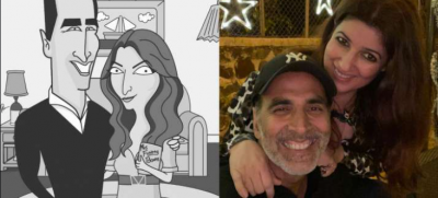 Akshay Kumar recovers from corona infection, wife Twinkle gives info in a funny way
