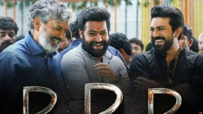 Wait is over! poster of 'RRR' released, see post