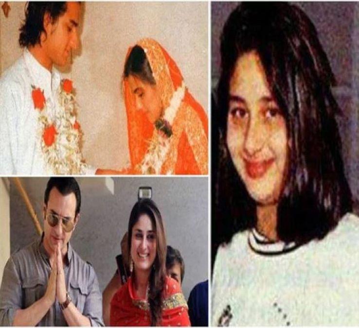 पति सैफ की पहली शादी में 12 साल की थी करीना, कहा था 'मुबारक हो सैफ अंकल'