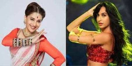 Nora seen dancing with Madhuri, video goes viral