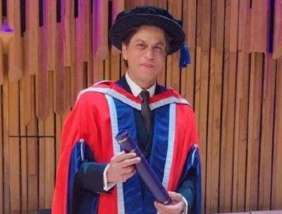 इस मामले में पूरी इंडस्ट्री पर भारी पड़ते हैं शाहरुख़, 53 की उम्र में तीन अंतर्राष्ट्रीय डॉक्टरेट