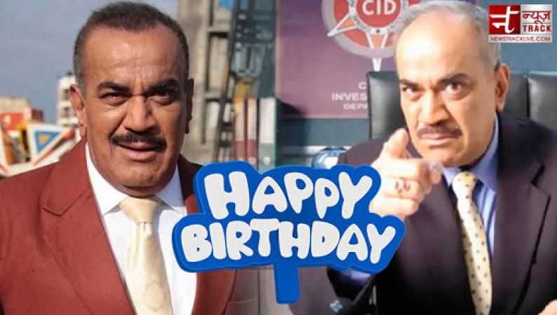 CID के एसीपी प्रद्युमन को जन्मदिन की बहुत बहुत बधाइयां