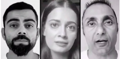 Bollywood stars shares this video against rising domestic violence