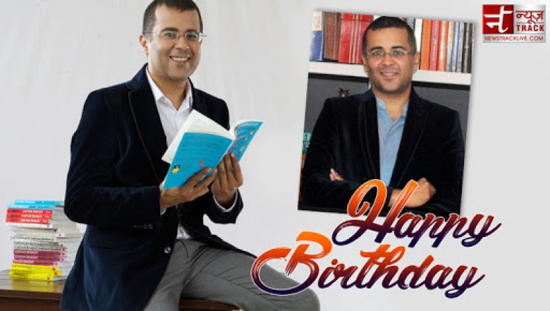 लेखक, स्तंभकार, स्क्रिप्टराइटर चेतन भगत को जन्मदिन की ढेर सारी बधाईयां