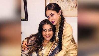 सैफ अली खान की पहली पत्नी और बेटी ने करवाया बोल्ड फोटोशूट
