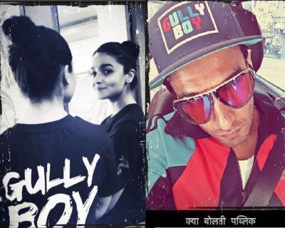 'गली बॉय' की शूटिंग हुई ख़त्म, रणवीर सिंह ने ऐसे जाहिर की ख़ुशी