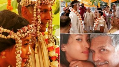 Milind and his wife celebrate their marriage anniversary in a very romantic manner