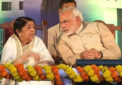 Lata Mangeshkar gives this unique message to PM Modi on Rakshabandhan