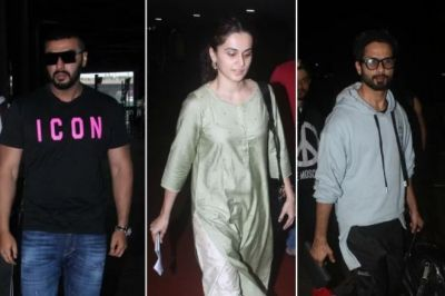 These stars, including Shahid-Tapsee-Arjun, spotted at the airport, see photos!