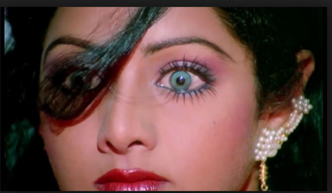 Sridevi's eyes got spoilt because of her this role; the family had to vow for her eyes!