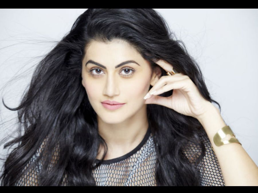 Tapsee's big statement before the release of Mission Mangal; said something on this director!