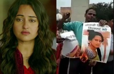 Why are the effigies of Sonakshi being burnt everywhere? Demand for arrest in the case!