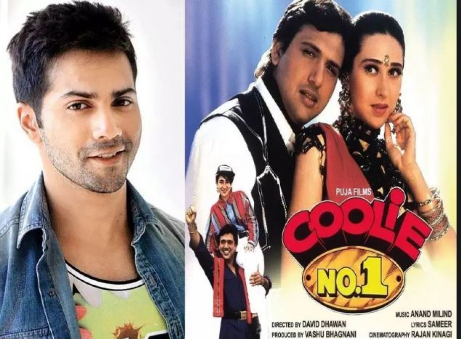 Varun Shared a Funny Video from the set of Coolie No.1
