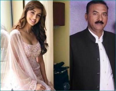 Disha Patani's father turns out Covid-19 positive