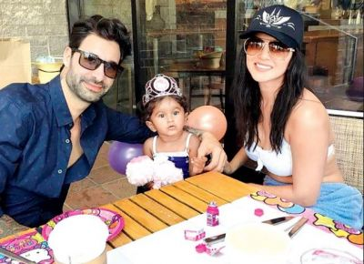 Sunny Leone shared a picture with her husband, captioned it in this way!