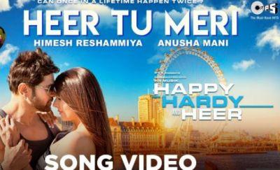 New romantic song of Himesh Reshammiya's film released