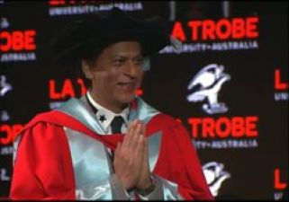 King Khan receives doctorate Degree in front of thousands of fans!