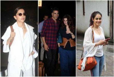 From Akshay Kumar to Deepika Padukone, these stars were captured on camera, see the stars!