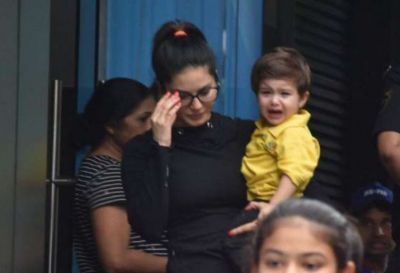 Sunny Leone's son, who was crying as soon as she left school, see the actress' reaction!