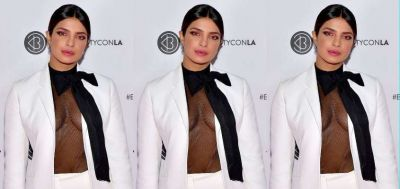 Priyanka shocked the social media by her look, everything was visible in the clothes...