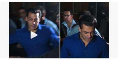 Video :फोटो खिचवाने के लिए फीमेल फैन ने खिंचा सलमान खान का हाथ, गुस्से में लाल होकर...!