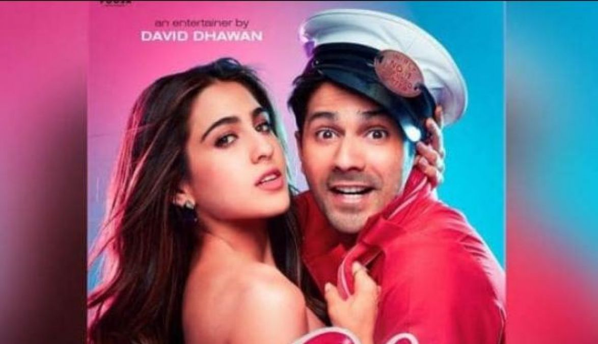 Coolie No. 1: Varun Dhawan, Sara Ali Khan Look Like the Perfect Couple in Posters