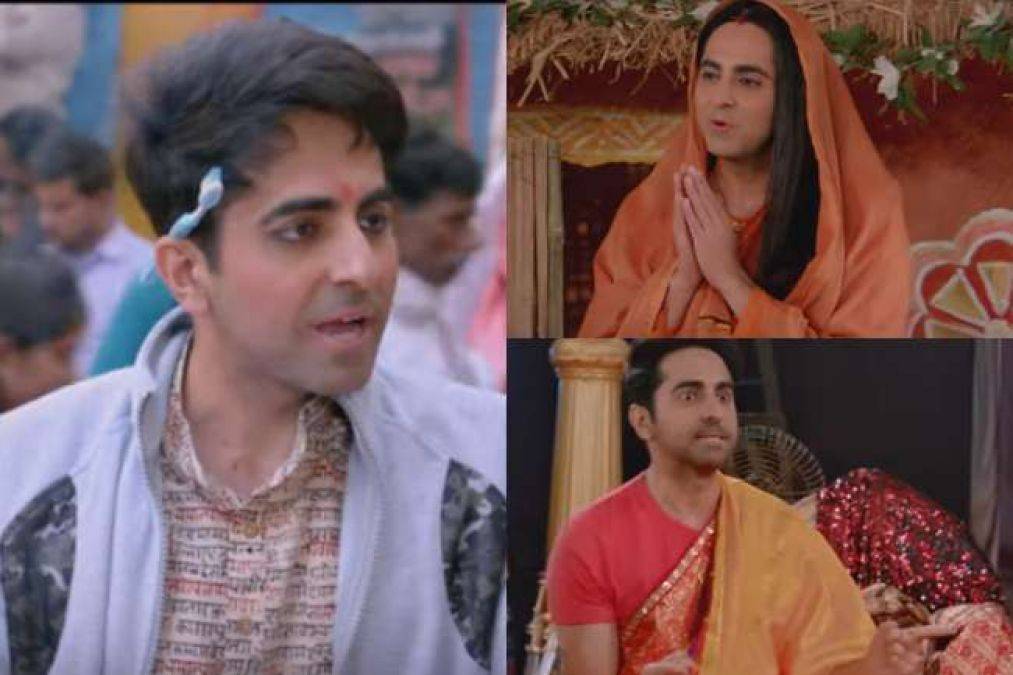 In this film, Ayushman had to play the role of a girl, told about the difficulties he faced!