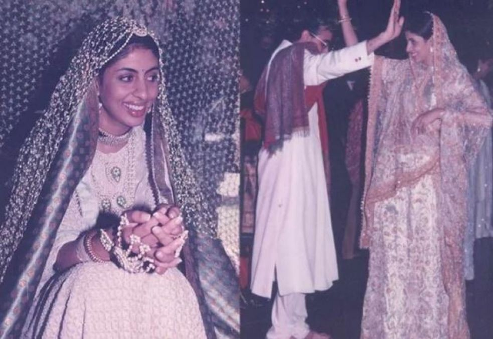 After 22 years, Amitabh Bachchan's daughter Shweta's wedding pics go viral