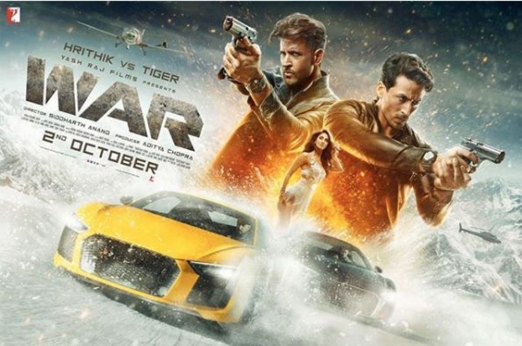 War: First look poster of Hrithik Roshan's upcoming action film released