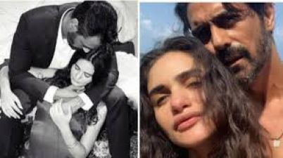 Gabriella Demetriades enjoying romantic Saturday with Arjun Rampal in adorable new photo
