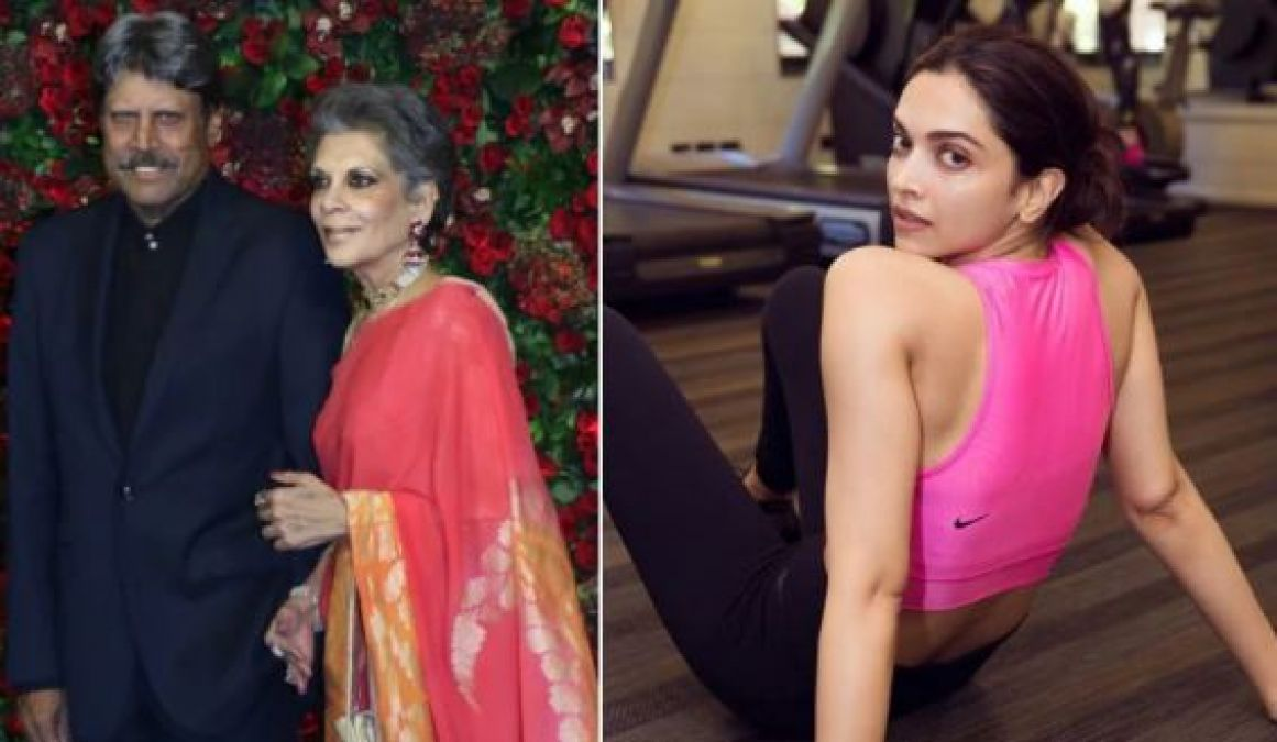 83: Deepika felt something like this after she met Kapil Dev's wife meets Romi Devi, here are the highlights!