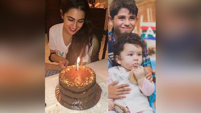 Video: सैफ की बेटी ने सौतेले भाई तैमूर को केक खिलाने से किया इंकार