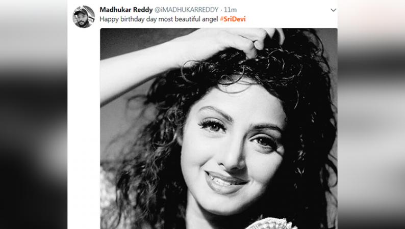 श्रीदेवी की यादों में डूबा सारा जहां, लोगों ने किए स्पेशल ट्वीट्स