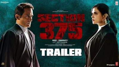 Section 375 Trailer: Trailer of the movie reminds of the Nirbhaya Case!