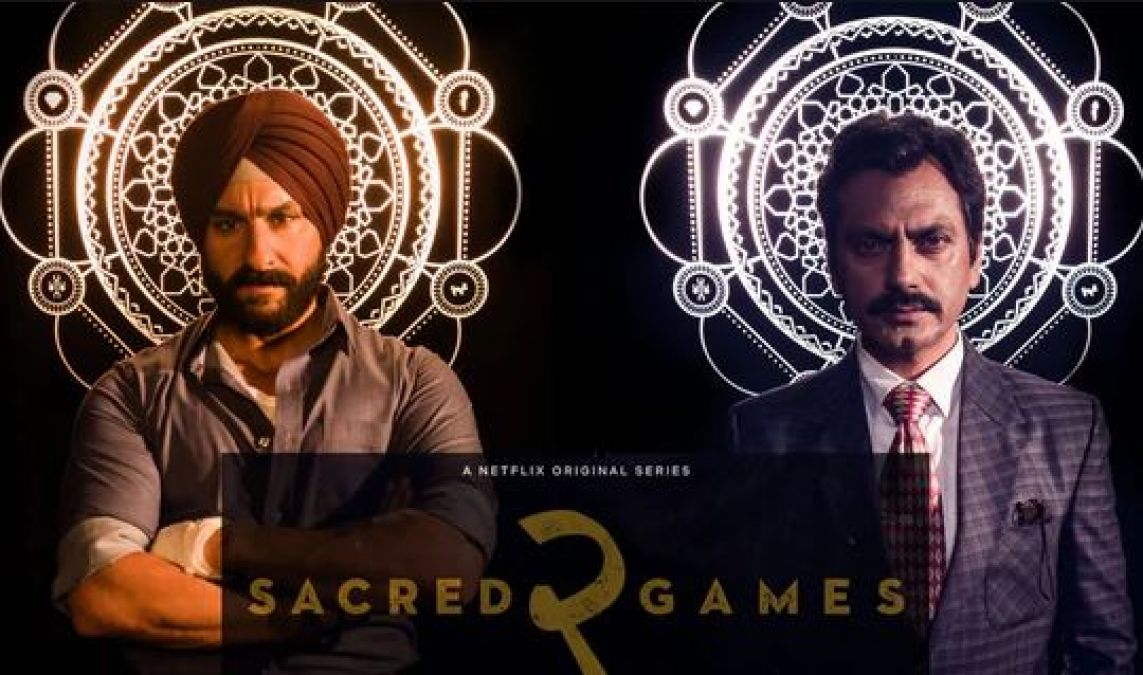 Sacred Games 2 is being made on big-budget, never happened so much investment