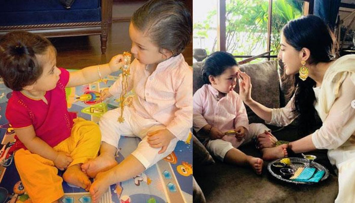 Taimur give this Rakshabandhan gift to step-sister Sara Ali