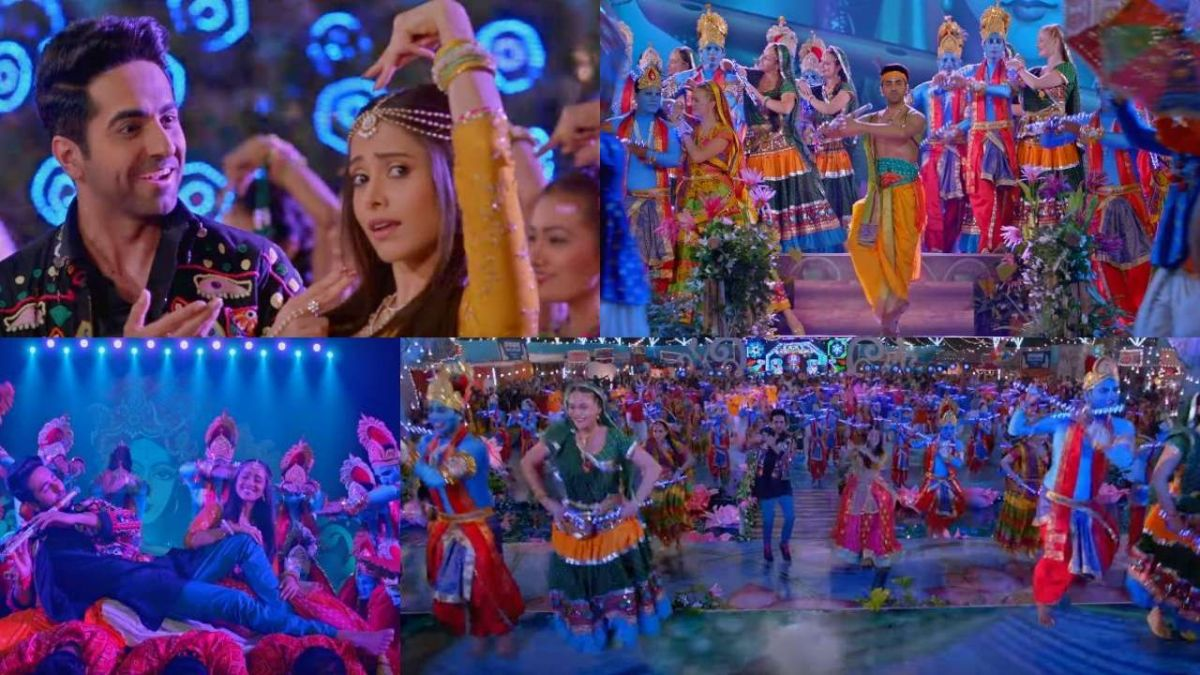 Radhe- Radhe: Dream Girl's First Song Released, These actors are seen as Radha-Krishna!