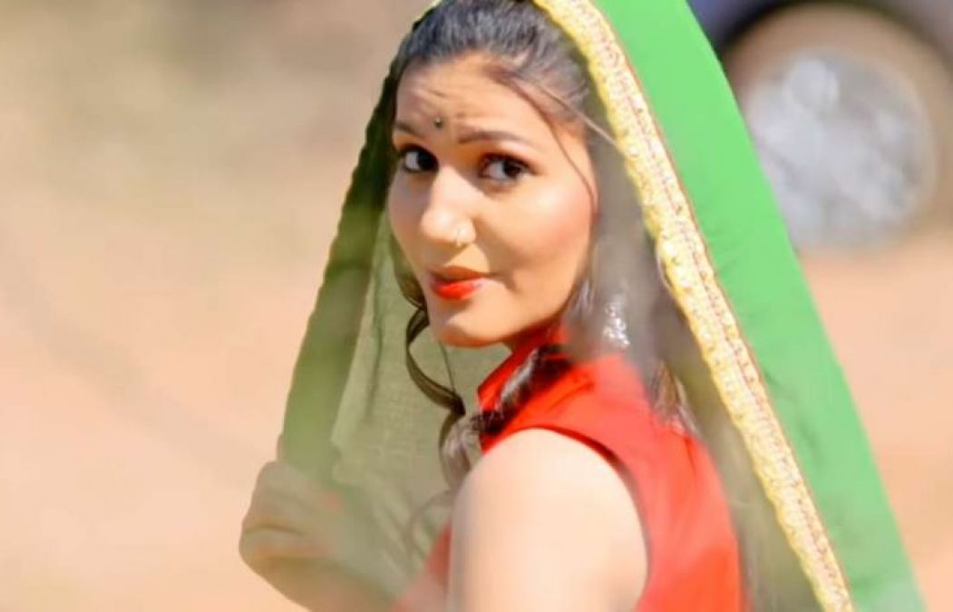 Sapna's new song 'Panhari' mocked fire, video viewed 6 million times