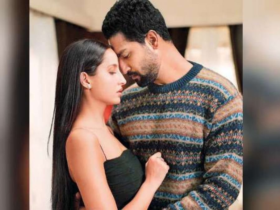 Vicky Kaushal-Nora Fatehi's romantic style appears in the first look of this project!