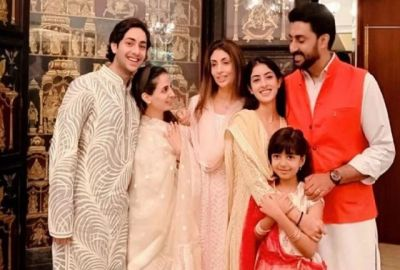 The Bachchan family also gave a glimpse of the cousins, including Abhishek-Shweta, who celebrated Raksha Bandhan with pomp!