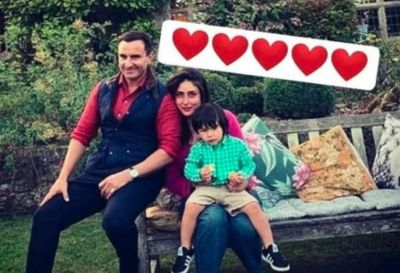 On his Birthday Saif enjoys with Kareena-Taimur, Writes a Funny Comment!