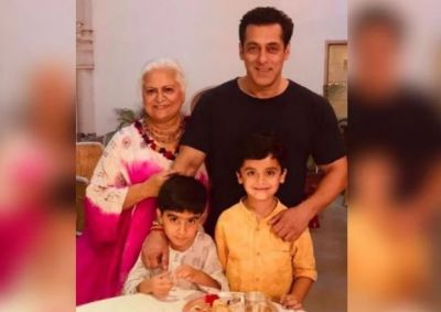 Salman took time off from the shooting and got Rakhi tied up from this Bollywood actress